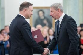 Nominacja Profesora Mariusza Malinowskiego | Fot. Krzysztof Sitkowski / KPRP