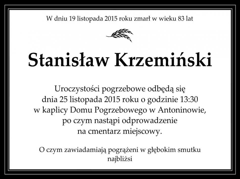 StanislawKrzemiski-Nekrolog